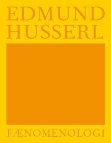 Fænomenologi - Husserl